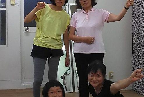 眼ヨガ集中記念撮影